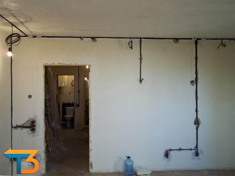 Проводка в квартире фото